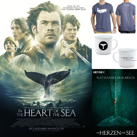 Goodie-Sets zu gewinnen, the heart of the sea, tickets